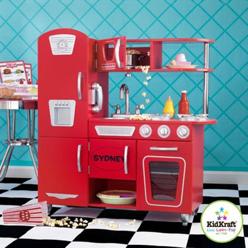 Retro Red Dream Kitchen